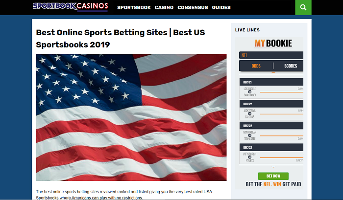 A REAL SITE FOR BOOKIES
