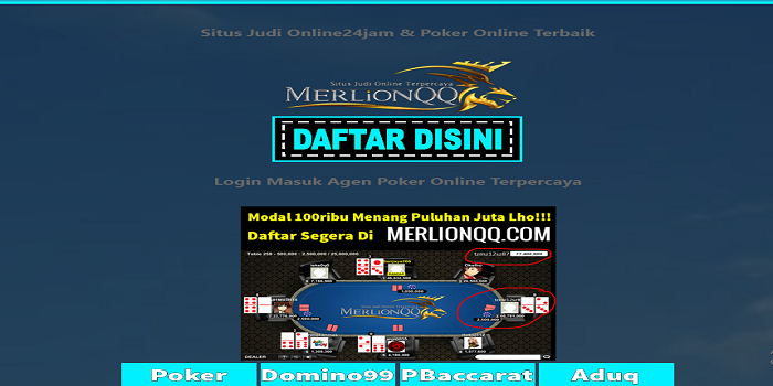Playing Poker Online Indonesia – Gambling poker online